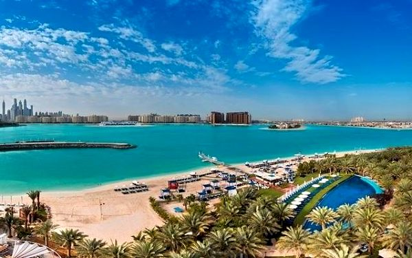 RIXOS THE PALM DUBAI, Dubaj, letecky, ultra all inclusive3