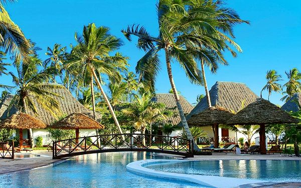 Hotel Uroa Bay Beach Resort, Zanzibar, letecky, polopenze4