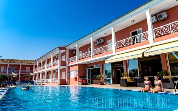 ANGELINA HOTEL, Korfu, vlastní doprava, snídaně v ceně5