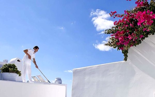 CLIFFSIDE SUITES, Santorini, vlastní doprava, snídaně v ceně5