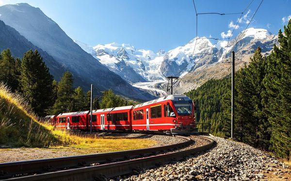 Švýcarsko vlakem na 6 dnů, strava dle programu