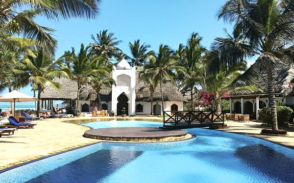 Hotel Sultan Sands Island Resort, Zanzibar, letecky, all inclusive