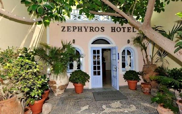 ZEPHYROS HOTEL, Santorini, vlastní doprava, snídaně v ceně3