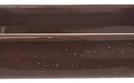 Orion Smaltovaný pekáč Brown, 34 x 22 cm