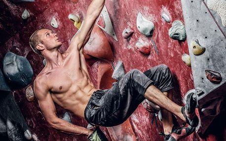 Kurz lezení na horolezecké stěně pro 1 i 2 osoby
