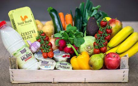 Bedýnky s ovocem a zeleninou i mléčnými výrobky