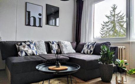 Janské Lázně, Královéhradecký kraj: Stylový apartmán přímo u lanovky, vlastní garážové stání