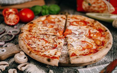 1 + 1 americká pizza dle výběru na odnos s sebou