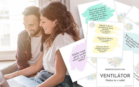 Ventilátor: seberozvojová hra pro páry i jednotlivce