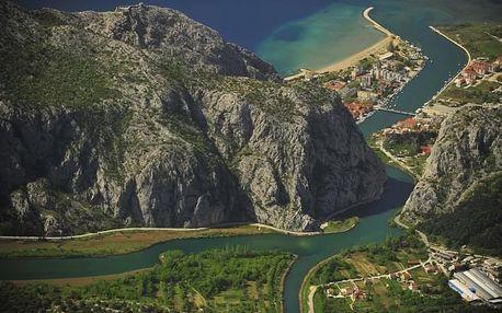 Chorvatsko - Omiš letecky na 8-9 dnů