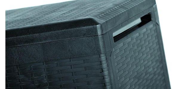 Zahradní úložný box Boxe Rato Plus antracit, 290 l, 114 cm2