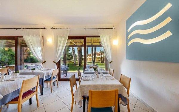 Blu Hotel Laconia Village, Sardinie / Sardegna, Itálie, Sardinie / Sardegna, letecky, polopenze2