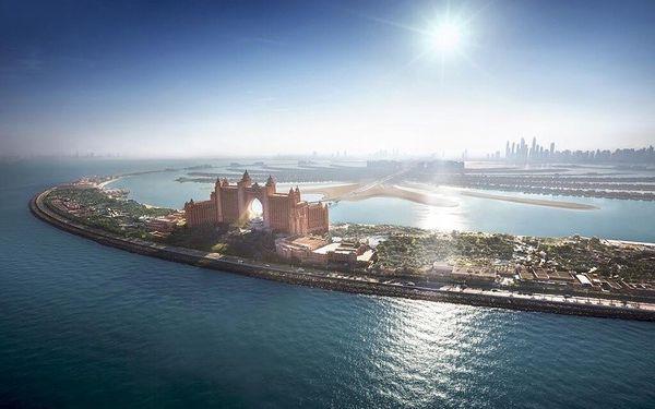 Atlantis The Palm, Dubai, Spojené arabské emiráty, Dubai, letecky, polopenze2