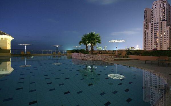 Amwaj Rotana, Jumeirah Beach Residence, Dubai, Spojené arabské emiráty, Dubai, letecky, snídaně v ceně5