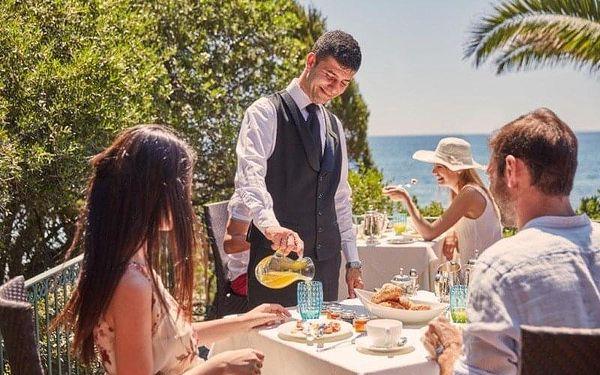Forte Village Resort - Le Palme, Sardinie / Sardegna, Itálie, Sardinie / Sardegna, letecky, polopenze2