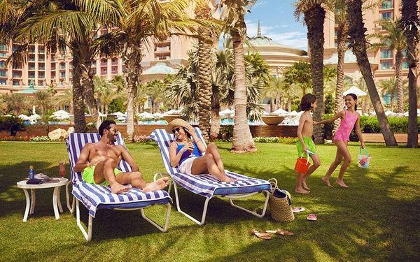 Atlantis The Palm, Dubai, Spojené arabské emiráty, Dubai, letecky, polopenze5