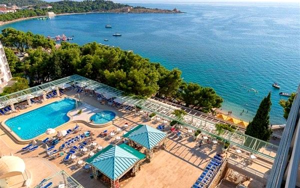DALMACIJA SUNNY Hotel, Makarska, Chorvatsko, Makarska, letecky, snídaně v ceně5