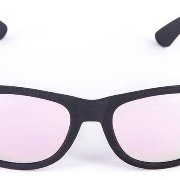 Černé brýle Kašmir Wayfarer W01 - tmavá skla2