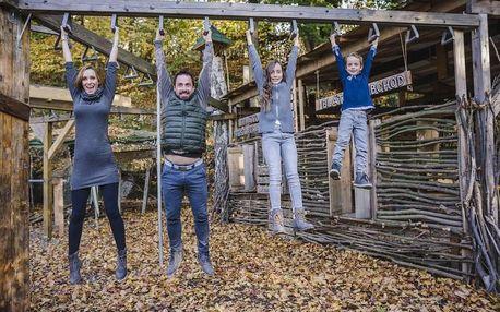 Rodinný pobyt plný offline zážitků v EKOParku Liberec