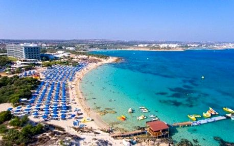 Kypr - Ayia Napa letecky na 8-12 dnů