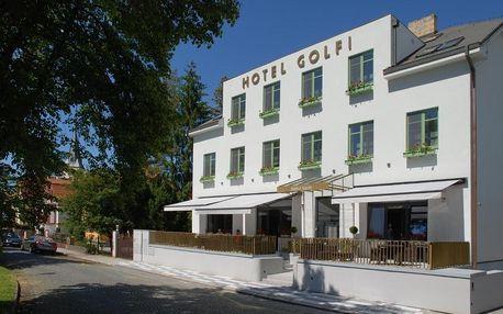 Lázně Poděbrady, Středočeský kraj: Hotel Golfi