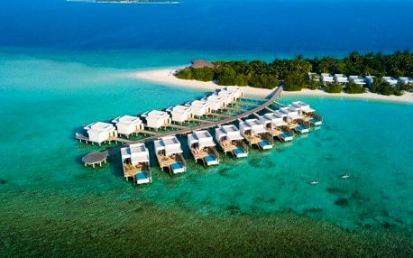 Maledivy letecky na 10 dnů, all inclusive