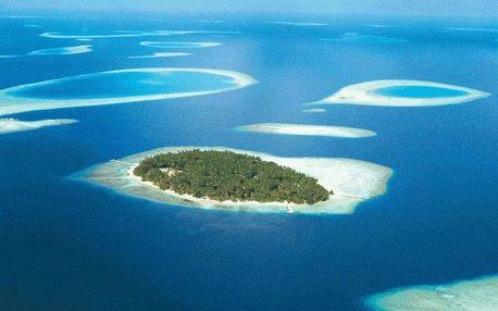 Maledivy - Jižní Atol Male letecky na 10 dnů