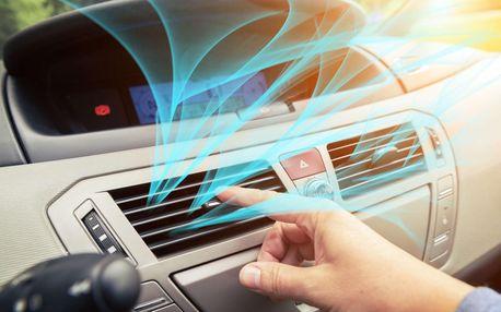 Kompletní servis klimatizace automobilu včetně plnění i dezinfekce ozonem