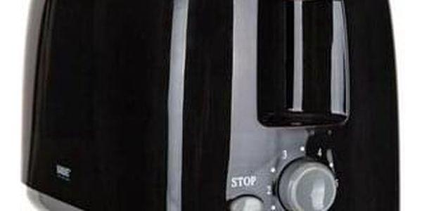 Banquet Topinkovač s časovým ovladačem, černá2