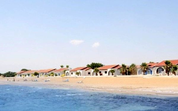 Long Beach, Severní Kypr, Kypr, Severní Kypr, letecky, polopenze5