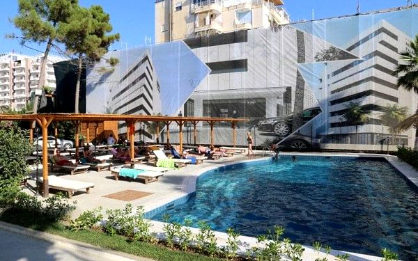 Hotel Rinia 2, Dürres, Albánie, Dürres, letecky, all inclusive4