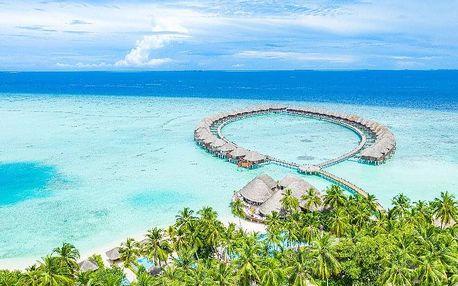 Maledivy letecky na 9-13 dnů, all inclusive