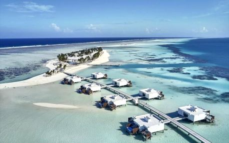 Maledivy letecky na 8-15 dnů, all inclusive