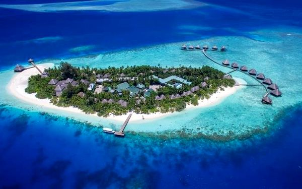 Adaaran Club Rannalhi, Jižní Atol Male, Maledivy, Jižní Atol Male, letecky, all inclusive5