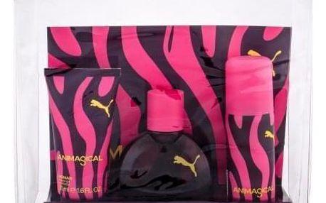 Puma Animagical Woman dárková kazeta pro ženy toaletní voda 40 ml + sprchový gel 50 ml + deospray 50 ml