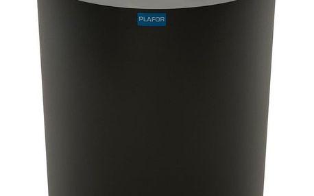 Odpadkový koš na tříděný odpad Eco Bin 50 l, stříbrná