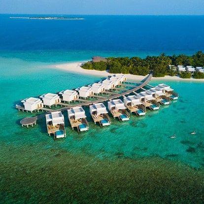 Maledivy letecky na 9-10 dnů, all inclusive