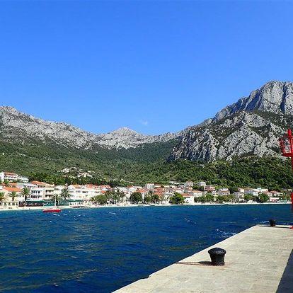Chorvatsko - Gradac na 8-17 dnů, all inclusive
