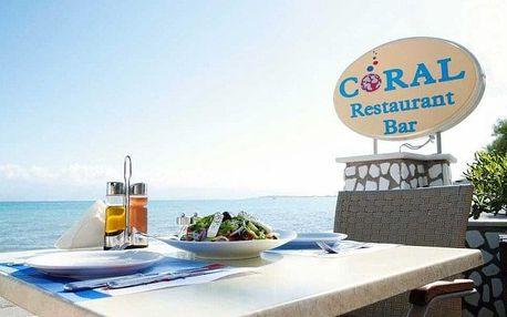 Řecko - Korfu letecky na 8 dnů, snídaně v ceně