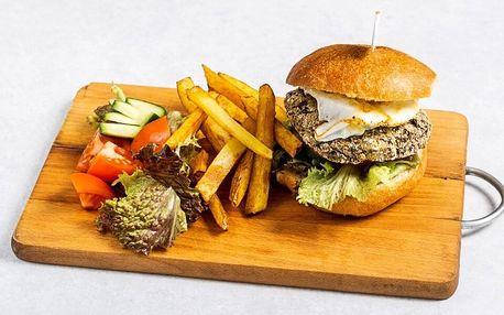 Veganská jídla s sebou: tortilly i houbový burger