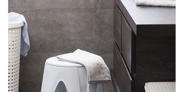 Otočná stolička Girotondo bílá, 35 x 35 x 45,5 cm3