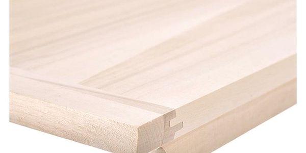 Vál na těsto dřevo 60x39,5 cm2