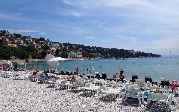 Hotel NARCIS, Chorvatsko, Istrie, Rabac, Istrie, autobusem, polopenze2
