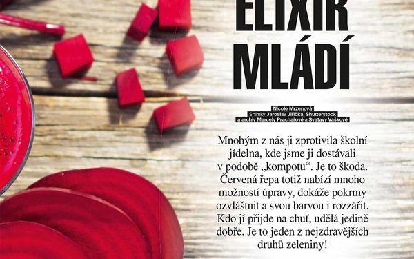 Čtvrtletní předplatné časopisu Květy s dárkem2