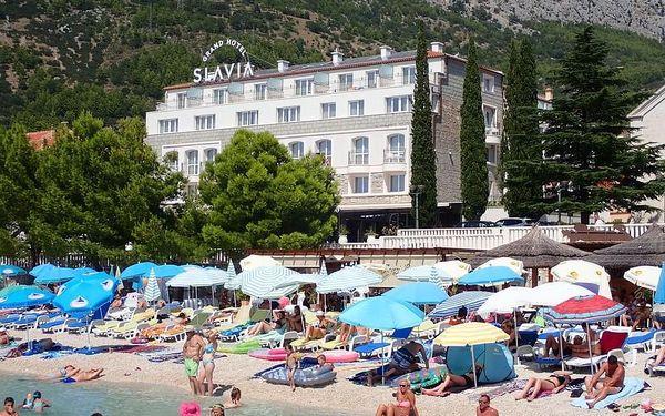 Grand Hotel SLAVIA, Chorvatsko, Střední Dalmácie, Baška Voda, Střední Dalmácie, letecky, snídaně v ceně4
