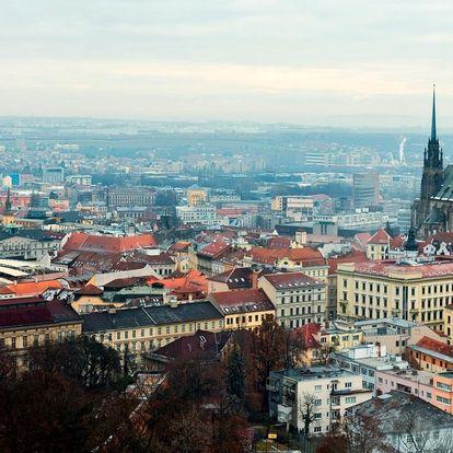 Pohoda v Brně v hotelu se snídaní či polopenzí