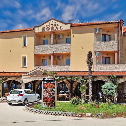 Chorvatská Istrie: pobyt se snídaní hned u pláže