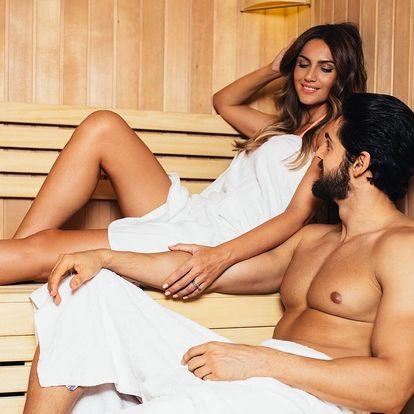 120 minut v privátní sauně v centru Tábora až pro 6