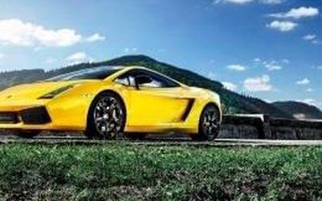 Jízda Lamborghini Praha