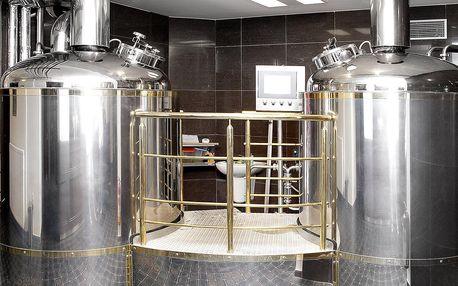 Prohlídka pivovaru Faltus s výkladem i ochutnávkou